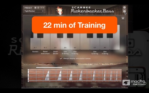 AV for Scarbee Rickenbacker Bass screenshot 3
