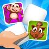 ABC Gioco di Memoria Per i Bambini - Imparare Con Gli Animali Della Giungla