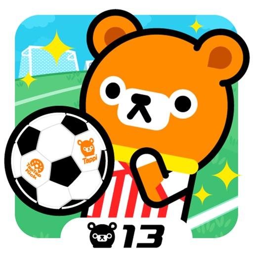 塌屁熊踢足球:Tap Tap Kick – Tappi Bear