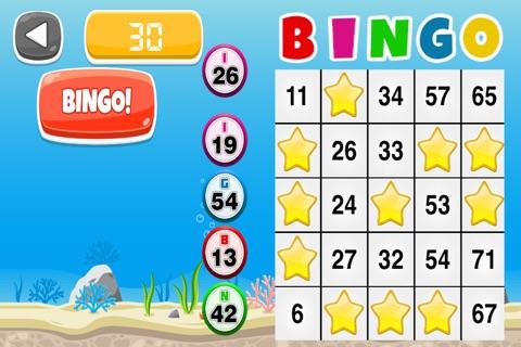 Blue Fish Bingo: Big Win Party Edition - FREE screenshot 2
