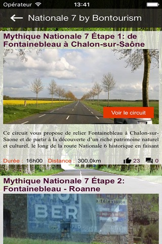 Nationale 7 by Bontourism® screenshot 2
