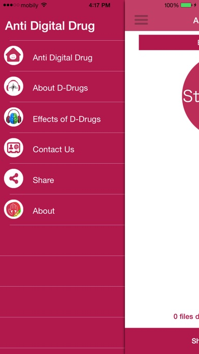Drug Scanner-Lite - Scan your audio files for Digital Drugsلقطة شاشة4