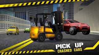 Screenshot #3 pour Forklift Crash Madness 3D