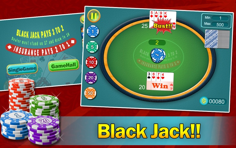 Screenshot #1 for BlackJack - Daily 21 Points