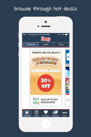 The Beep App screenshot 1