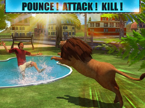 Screenshot #5 pour Angry Lion Attack 3D