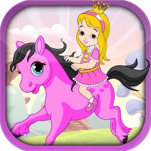 Pretty Pony Princess Ride - A Running Horse Adventure PRO iOS App