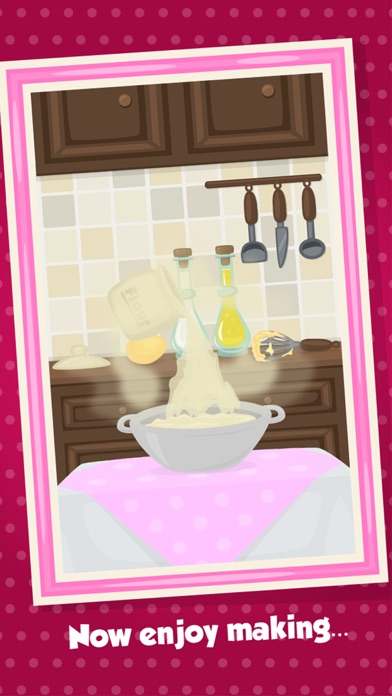Love Cake Maker - Kids Cooking & Event Decorating Game Screenshot on iOS