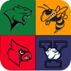 US College Sports Logo Quiz ~ Collegiate Athletics Teams Sport Logos Guessing Games