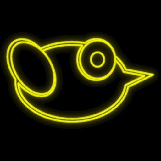 Neon Bird - Night Flight iOS App