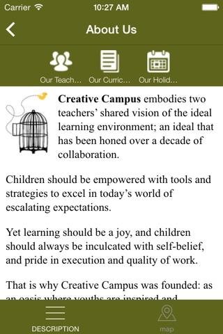 Creative Campus screenshot 2