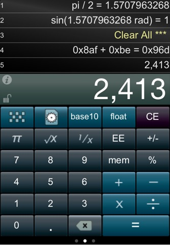 Paper Calc for Coders screenshot 1