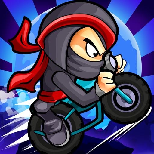 Ninja боевой Выполнить гоночный издание (Ninja Combat Dash Racing Edition) - Бесплатный самурай воин дорога ралли велосипед, автомобиль и скейтборд гонки