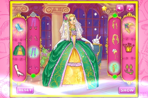 Princess wedding show screenshot 2