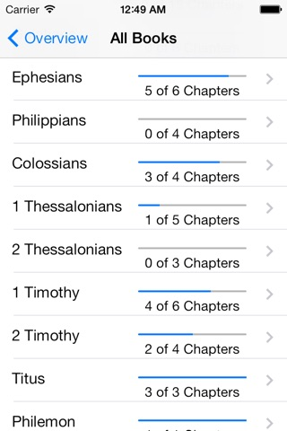 Bible Reading Log screenshot 2