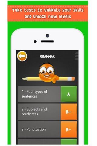iTooch 5th Grade App | Math, Language Arts and Science screenshot 3