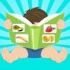 游戏的孩子与水果和蔬菜 - 图片,问答和记忆游戏 幼儿和婴儿听,听,使用教育教学卡片学习单词