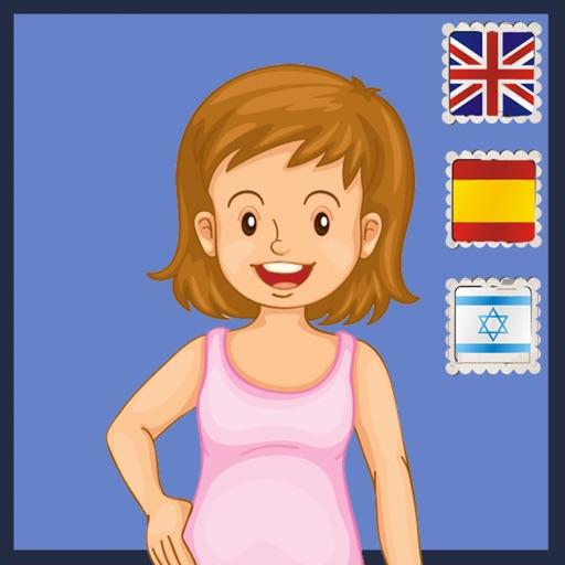 My Body english spanish hebrew iOS App