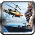 Naval Helicopter War - Ruthless battleground set against fast flying aerial helicopters and bombarding panzer tanks icon