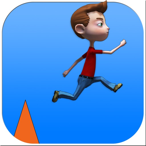 Easy Jumping Game - run and jump over obstacles and feel great finishing the levels iOS App
