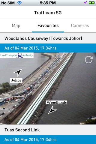 TraffiCam SG screenshot 1