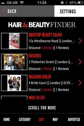 Hair and Beauty Finder screenshot 3