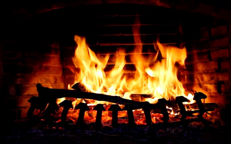 Fireplace Screensaver & Wallpaper HD with relaxing crackling fire ...