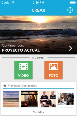 Square Video for Instagram & Vine screenshot 1