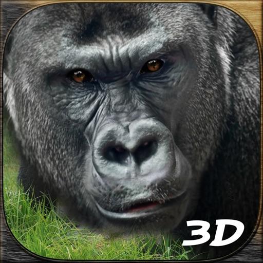 Wild Gorilla Attack Simulator 3D iOS App