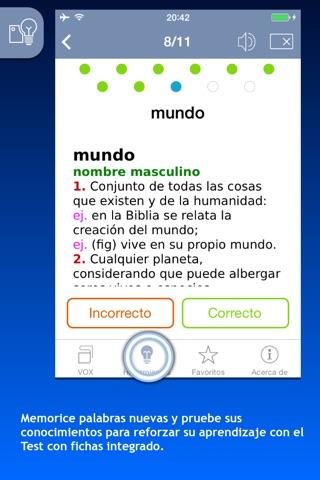 Diccionario General de la Lengua Española VOX screenshot 4
