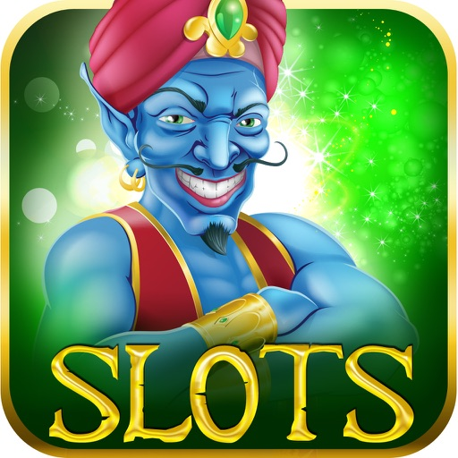 A Aladdin Genie Lucky Progressive Slot-s - Pro Jackpot Party Casino Machine iOS App