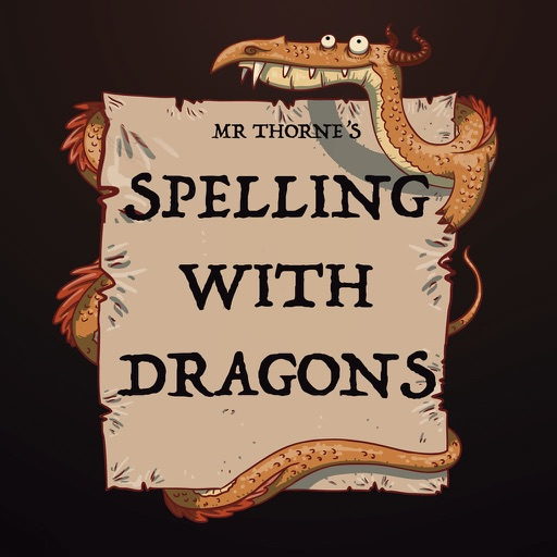 Mr Thorne's Spelling with Dragons