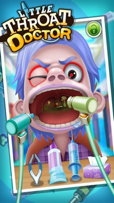 少し喉医師 - 子供のゲームのおすすめ画像2