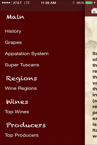 Wine Italy screenshot 4