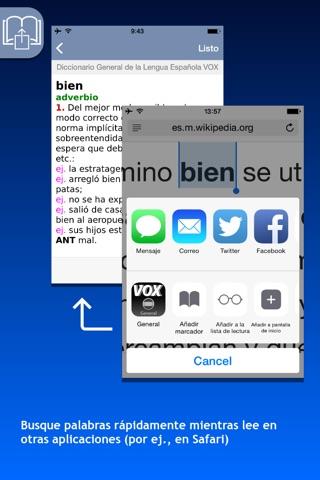 Diccionario General de la Lengua Española VOX screenshot 3