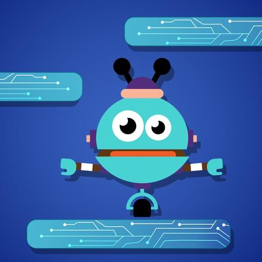 Doodle The Robot - Jump & Sprint Like Super Heroes iOS App