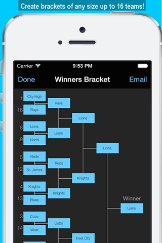 Bracket Maker screenshot 3