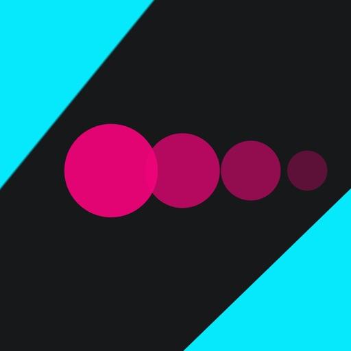 Dots and Big Circles - Bang & fire the racing rival balls iOS App