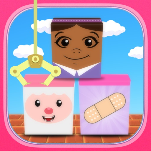 Tower Block Kids Game: Doc McStuffins Edition iOS App
