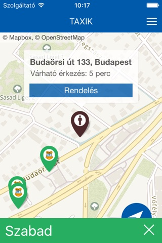 City-Taxi Budapest screenshot 2