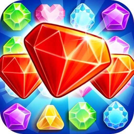 Jewels Deluxe: Shop Gem Match iOS App