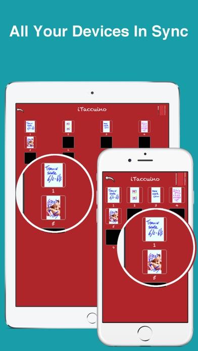 Screenshot of PocketJot - freehand notepad4