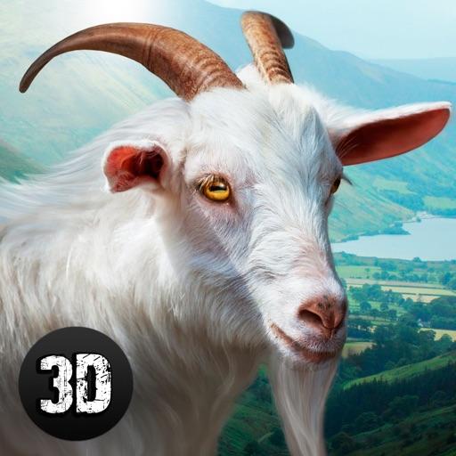 Wild Goat Survival Simulator 3D Full iOS App