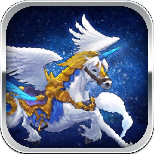 Pegasus Knight - Pretty Ranger from the Sevens God iOS App