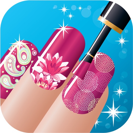 Nail Art Salon Girls - Free Manicure Beauty Hands Makeover DressUp games for kids iOS App