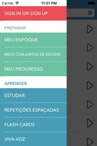 Italian   Portuguese - AccelaStudy® screenshot 1
