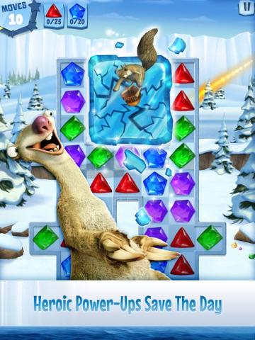 Screenshot of Ice Age: Arctic Blast