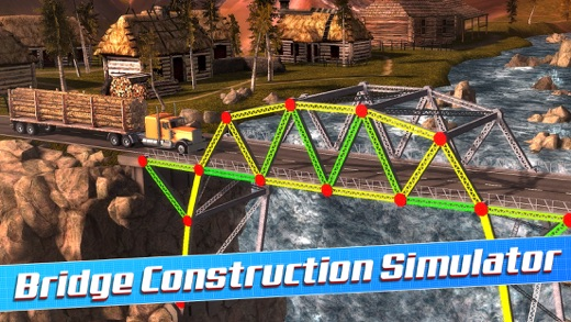 Bridge Construction Simulator 3D a Real City Building Physics Sim Screenshot
