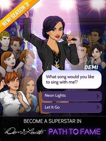 Screenshots of Demi Lovato: Path to Fame for iPad