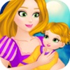 Rapunzel Real Care Newborn Baby - Princess Newborn Baby Care&Baby Dress Up&Baby Games